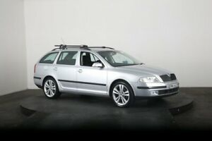 2008 Skoda Octavia 1Z Elegance Silver 6 Speed Direct Shift Wagon McGraths Hill Hawkesbury Area Preview