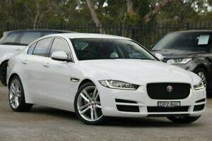 2017 Jaguar XE X760 MY17 20d Prestige White 8 Speed Sports Automatic Sedan Gateshead Lake Macquarie Area Preview