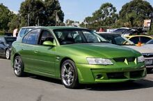 2002 Holden Commodore VY S Green 5 Speed Manual Sedan Ringwood East Maroondah Area Preview