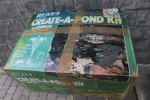 Create a Pond kit CP12 water garden or fish pond with 12 x 9 li