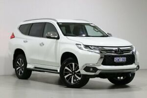 2019 Mitsubishi Pajero Sport QE MY19 GLS (4x4) 7 Seat White 8 Speed Automatic Wagon Bentley Canning Area Preview
