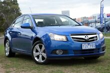 2011 Holden Cruze JH Series II MY12 CDX Blue 6 Speed Sports Automatic Sedan Seaford Frankston Area Preview