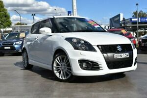 2012 Suzuki Swift FZ Sport White 7 Speed Constant Variable Hatchback Penrith Penrith Area Preview