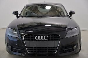 2008 Audi TT 8J S tronic Black 6 Speed Sports Automatic Dual Clutch Coupe Mansfield Brisbane South East Preview