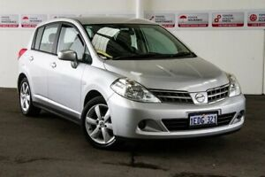 2013 Nissan Tiida C11 Series 4 ST Silver 4 Speed Automatic Hatchback Rockingham Rockingham Area Preview