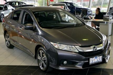 2015 Honda City GM MY16 VTi-L Grey 7 Speed Constant Variable Sedan