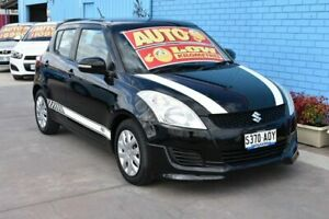 2011 Suzuki Swift FZ GL Black 4 Speed Automatic Hatchback Enfield Port Adelaide Area Preview