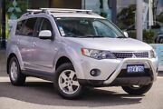 2009 Mitsubishi Outlander ZG MY09 Activ Silver 6 Speed Constant Variable Wagon Myaree Melville Area Preview