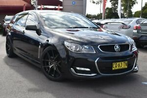2016 Holden Commodore VF II MY16 SV6 Sportwagon Black 6 Speed Sports Automatic Wagon Tuggerah Wyong Area Preview