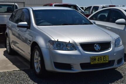 2011 Holden Commodore VE II MY12 Omega Sportwagon Silver 6 Speed Sports Automatic Wagon Rutherford Maitland Area Preview