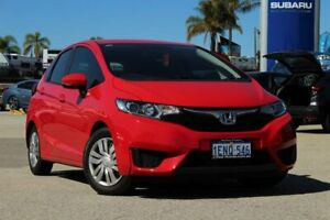 2014 Honda Jazz GF MY15 VTi Red 1 Speed Constant Variable Hatchback Greenfields Mandurah Area Preview