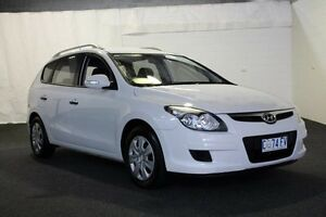 2011 Hyundai i30 i30 5Dr Wagon 1.6Lt CRDi Dies Mtm 07/11-08/12 Ceramic White Manual Wagon Derwent Park Glenorchy Area Preview
