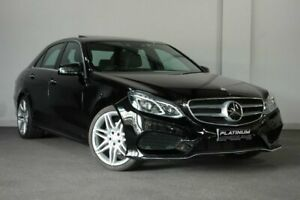 2014 Mercedes-Benz E-Class W212 MY14 E250 7G-Tronic + Black 7 Speed Sports Automatic Sedan Bayswater Bayswater Area Preview