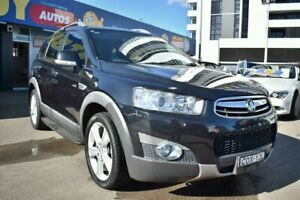 2011 Holden Captiva CG Series II 7 LX Wagon 7st 5dr Spts Auto 6sp AWD 2.2DT [Mar Black Liverpool Liverpool Area Preview