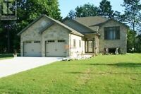 Custom home in a desirable location.