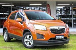 2013 Holden Trax TJ MY14 LS Orange 5 Speed Manual Wagon Victoria Park Victoria Park Area Preview