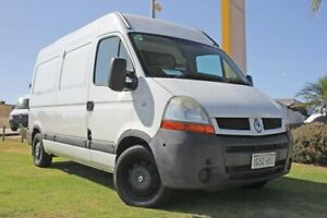 2007 Renault Master X70 Air Mid Roof MWB White 6 Speed Seq Manual Auto-Clutch Van Wangara Wanneroo Area Preview