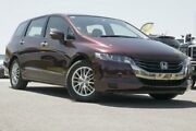 2009 Honda Odyssey 3rd Gen MY07 Red 5 Speed Sports Automatic Wagon Pearce Woden Valley Preview