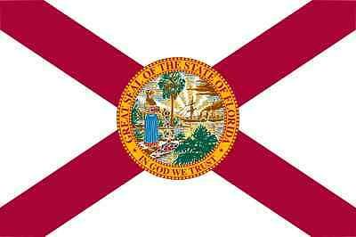 Home Decoration - Florida Flag Vinyl Decal / Sticker ** 5 Sizes **