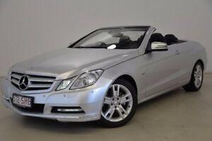 2011 Mercedes-Benz E250 A207 MY12 BlueEFFICIENCY 7G-Tronic + Elegance Silver 7 Speed