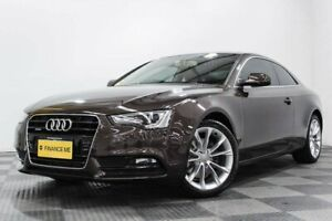 2014 Audi A5 8T MY14 S Tronic Quattro Brown 7 Speed Sports Automatic Dual Clutch Coupe