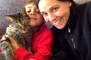 Mom, son & cat looking for a place to live for DEC. 1, Whitehors