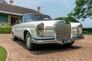 1967 Mercedes-Benz 250SE W111 White 4 Speed Automatic Coupe Newstead Brisbane North East Preview