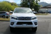 2017 Toyota Hilux GUN126R SR5 Double Cab White 6 Speed Sports Automatic Utility Earlville Cairns City Preview