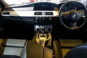2009 BMW 520D E60 MY08 Steptronic Carbon Black 6 Speed Sports Automatic Sedan Minchinbury Blacktown Area Preview