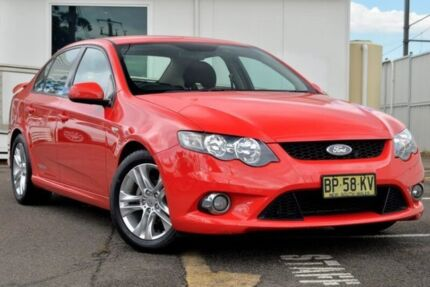 2010 Ford Falcon FG XR6 Red 6 Speed Sports Automatic Sedan Gosford Gosford Area Preview