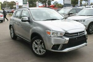2018 Mitsubishi ASX XC MY19 ES 2WD Silver 6 Speed Constant Variable Wagon