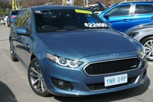 2015 Ford Falcon FG X XR6 Blue 6 Speed Sports Automatic Sedan Phillip Woden Valley Preview