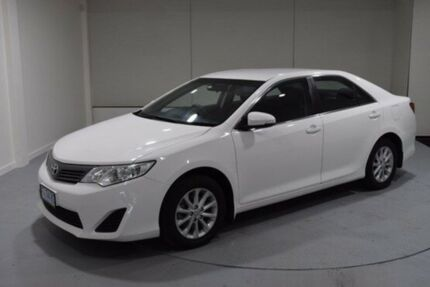 2012 Toyota Camry ASV50R Altise White 6 Speed Sports Automatic Sedan Cooee Burnie Area Preview