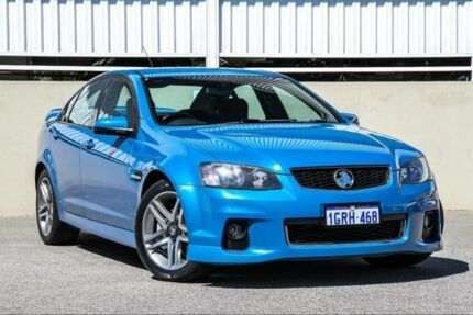 2012 Holden Commodore VE II MY12 SV6 Blue 6 Speed Automatic Sedan Cannington Canning Area Preview