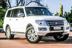 2018 Mitsubishi Pajero NX MY18 GLS White 5 Speed Sports Automatic Wagon Cannington Canning Area Preview