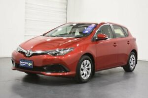 2016 Toyota Corolla ZRE182R MY15 Ascent Red 7 Speed CVT Auto Sequential Hatchback