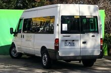 2005 Ford Transit VJ Mid Roof White 5 Speed Seq Manual Auto-Clutch Bus Ringwood East Maroondah Area Preview