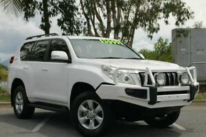 2012 Toyota Landcruiser Prado KDJ150R GXL White 5 Speed Sports Automatic Wagon Bungalow Cairns City Preview