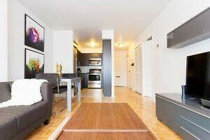 1 and 2 Bedroom Apartments for rent in Downtown Montreal