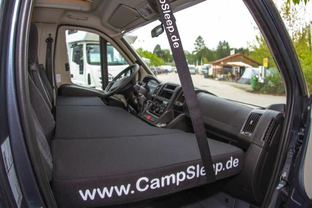 CampSleep - letto Letto supplementare im Furgoni Camper furgoni Citroen Jumper