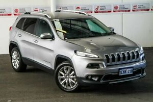 2014 Jeep Cherokee KL Limited (4x4) Silver 9 Speed Automatic Wagon Myaree Melville Area Preview