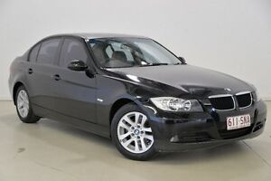 2005 BMW 320i E90 E90 Black 6 Speed Manual Sedan Mansfield Brisbane South East Preview