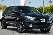 2012 Nissan Dualis J10W Series 3 MY12 Ti-L Hatch X-tronic 2WD Black 6 Speed Constant Variable Hatchb Mindarie Wanneroo Area Preview