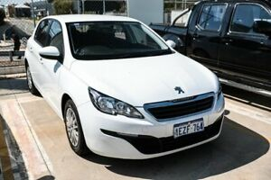 2016 Peugeot 308 T9 Access White 6 Speed Sports Automatic Hatchback Edgewater Joondalup Area Preview