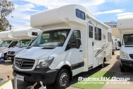 U3864 Talvor Murana Versatile 4 Berth RV With Electric Bed Penrith Penrith Area Preview