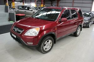 2002 Honda CR-V RD MY2002 Sport 4WD Red 5 Speed Manual Wagon Maryville Newcastle Area Preview