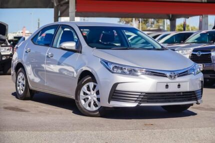 2017 Toyota Corolla ZRE172R Ascent S-CVT Silver Ash 7 Speed Constant Variable Sedan Osborne Park Stirling Area Preview