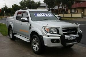 2010 Ford Ranger PK Wildtrak Crew Cab Silver 5 Speed Automatic Utility Altona North Hobsons Bay Area Preview