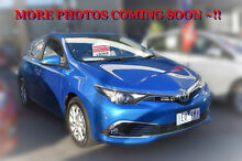 2015 Toyota Corolla ZRE182R Ascent Sport Blue Gem 6 Speed Manual Hatchback Berwick Casey Area Preview