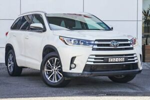 2018 Toyota Kluger GSU55R GXL AWD White 8 Speed Sports Automatic Wagon Tweed Heads South Tweed Heads Area Preview